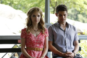 (l-r) Anna Kendrick and Jeremy Jordan in THE LAST 5 YEARS. ©Radius/TWC. CR: Thomas Concordia.