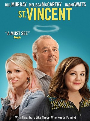 ST. VINCENT. (DVD Artwork). ©Anchor Bay Entertainment.