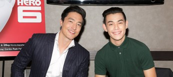 Photos: 'Big Hero 6' Actors Henney, Potter Talk Phenomenon