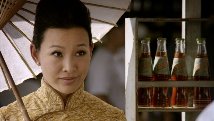 Photos: Joan Chen Takes a Stroll Down 'Serangoon Road'