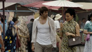 (l-r) DON HANY and JOAN CHEN star in SERANGOON ROAD. ©HBO Asia/Australian Broadcasting Corp.