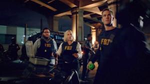 (l-r) Charley Koontz, Patricia Arquette and James Van Der Beek in CSI: CYBER.©CBS Broadcasting. CR: Monty Brinton/ CBS.