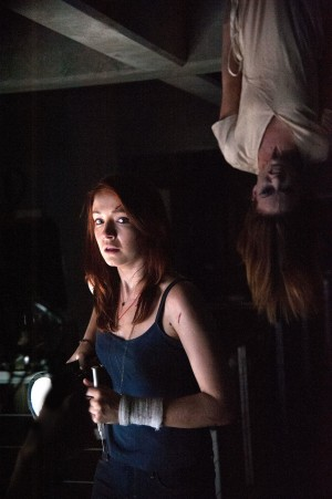 (Left to right.) Sarah Bolger and Olivia Wilde star in Relativity Media's THE LAZARUS EFFECT. © 2013 BACK TO LIFE PRODUCTIONS, LLC. CR: Suzanne Hanover