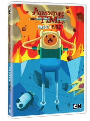 ADVENTURE TIME: FROST & FIRE (DVD Art). ©Cartoon Network/Warner Bros. Home Entertainment.
