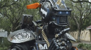 Sharito Copley stars as Chappie in CHAPPIE. ©CTMG.