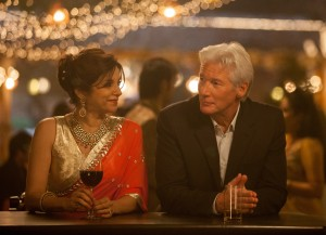 "Lillete Dubey as ""Mrs. Kapoor"" and Richard Gere as ""Guy"" in THE BEST EXOTIC MARIGOLD HOTEL 2. Photo by: Laurie Sparham. Copyright © 2014 Twentieth Century Fox"