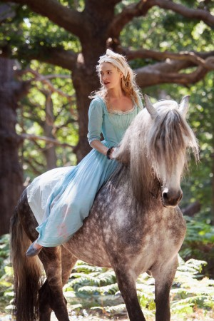 Lily James is Cinderella in Disney's live-action CINDERELLA,. ©Disney Enterprises. CR: Jonathan Olley.