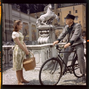 Liesl (Charmian Carr) and Rolfe (Daniel Truhitte) in a scene of THE SOUND OF MUSIC. ©20th Century Fox Home Entertainment.