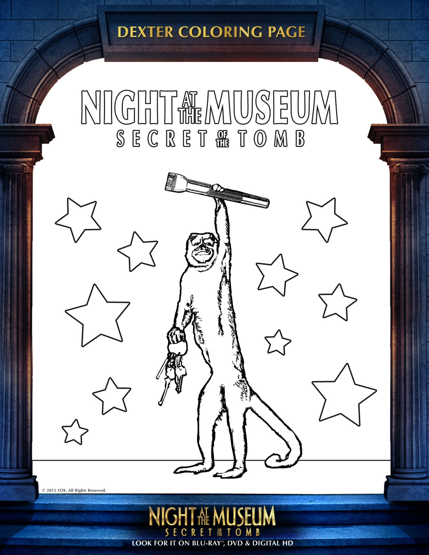 Night At The Museum Coloring Pages - Eskayalitim