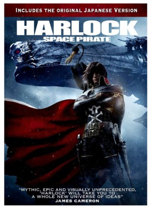 HARLOCK SPACE PIRATE (DVD Arrt). ©Ketchup Entertainment.