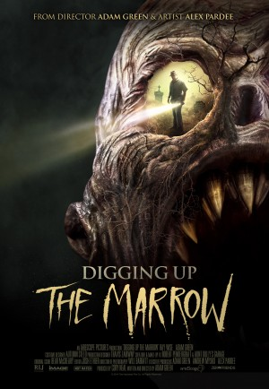 DIGGING UP THE MARROW (DVD art). ©RLJ Entertainment.