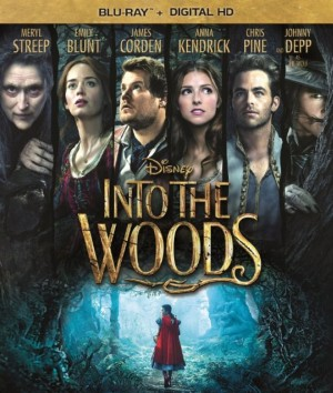INTO THE WOOD (Blu-ray cover art). ©Disney Enterprises.