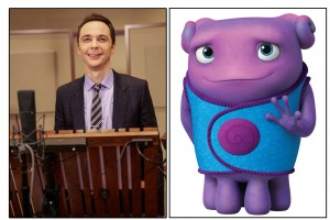 JIm Parsons voices Oh in HOME. ©DreamWorks Ainmations.