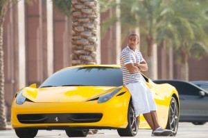 "CHRIS ""LUDACRIS"" BRIDGES as Tej Parker in ""Furious 7"". ©Universal Studios. CR: Scott Garfield."