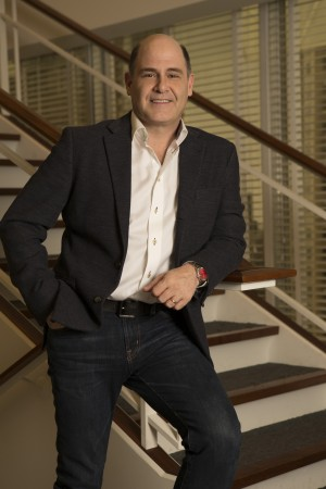 Writer-director-producer Matt Weiner of MAD MEN. ©AMC. CR: Michael Yarish/AMC