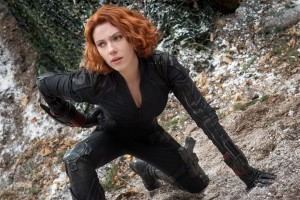 Black Widow/Natasha Romanoff (Scarlett Johansson) in MARVEL'S AVENGERS: AGE OF ULTRON. ©Marvel. CR: Jay Maidment.