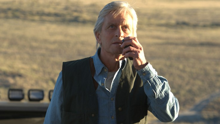 Michael Douglas Plays Cat and Mouse with Jeremy Irvine in 'Reach'