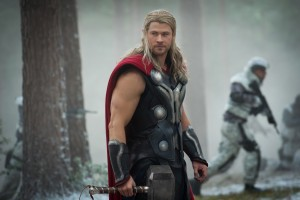 Chris Hemsworth stars as Thor in MARVEL'S AVENGERS: AGE OF ULTRON. ©Marvel. CR: Jay Maidment.
