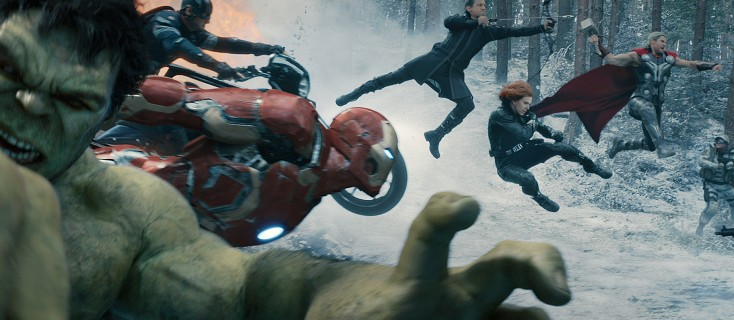 Avengers Reassemble for 'Age of Ultron'