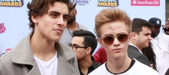 Teen Celebs Brave Weather on Radio Disney Music Awards Red Carpet