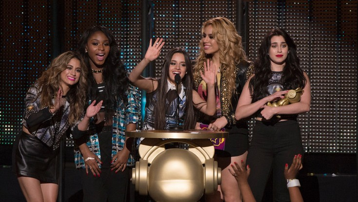 Fifth Harmony, Becky G Score at 2015 Radio Disney Music Awards