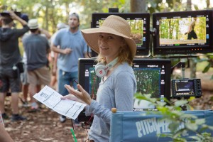 Director/producer ELIZABETH BANKS on the set of PITCH PERFECT 2. ©Universal Pictures. CR: Richard Cartwright.