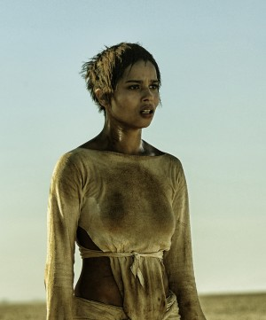 Zoe Kravitz as Toast the Knowing in MAD MAX: FURY ROAD. ©Warner Bros. Entertainment. CR: Jasin Boland.