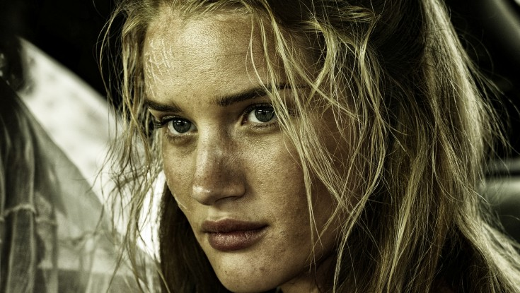 Photos: British Model Rosie Huntington-Whiteley Talks 'Mad Max' Redux