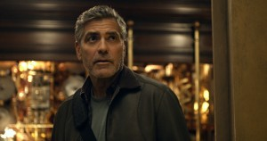 George Clooney stars Frank Walker in Disney's TOMORROWLAND. ©Disney.