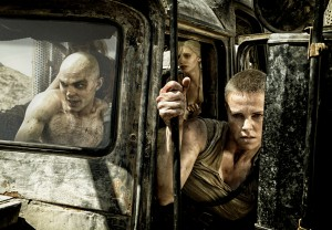 (l-r) Nicholas Hoult, Abbey Lee Kershaw and Charlize Theron star in MAD MAX: FURY ROAD. ©Warner Bros. Entertainment. CR: Jasin Boland.