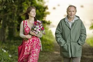 Gemma (Gemma Arterton) and Martin (Fabrice Luchini) in GEMMA BOVERY. ©Music Box Films. CR: Jerome Prebois.