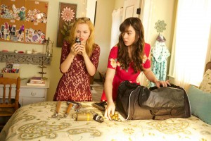 (l-r) Dove Cameron and Hailee Steinfeld star in BARELY LETHAL. ©DirecTV.
