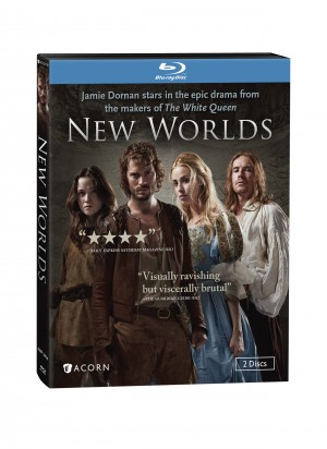 NEW WORLDS (Blu-ray/DVD Art) ©Acorn Entertainment.