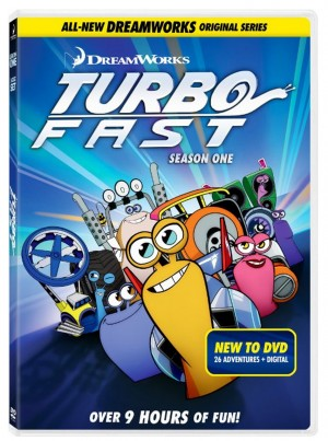 TURBO FAST: SEASON ONE. (DVD Art). ©Dreamworks Animated.