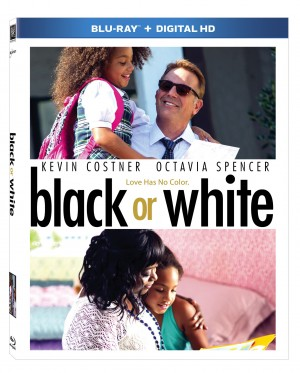 BLACK OR WHITE. (Blu-ray Cover Art). ©20 Century Fox.