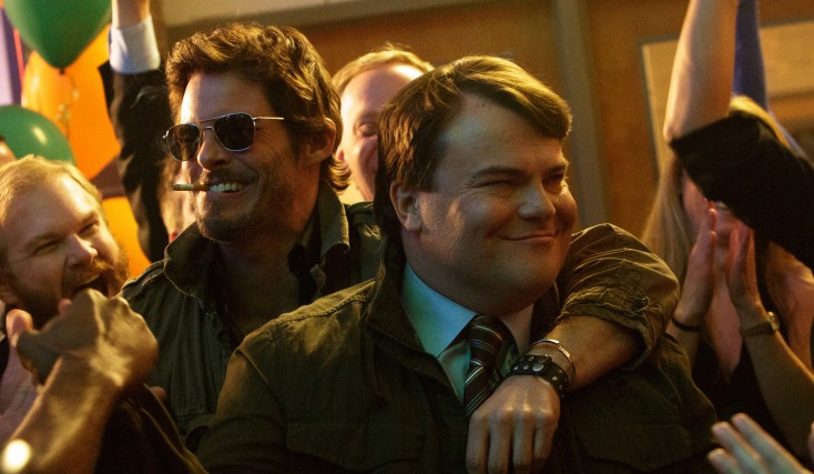 Photos: Jack Black Takes a Wild Ride on the 'D Train'