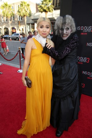 Hayley Kiyoko at the premiere of INSIDIOUS: CHAPTER 3 held at the TCL Chinese Theatre in Hollywood, CA on Thursday, June 4, 2015. ©Focus Features. CR: Eric Charbonneau.