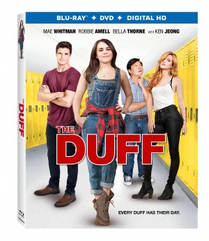 THE DUFF. (Blu-ray / DVD Artwork). ©Lionsgate Entertainment.