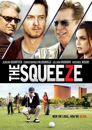 THE SQUEEZE. (DVD Artwork). ©Arc Entertainment.