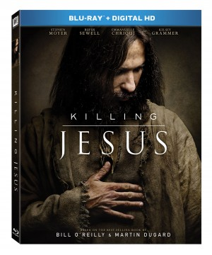 KILLING JESUS. (Blu-ray / DVD Artwork). ©20th Century Fox.