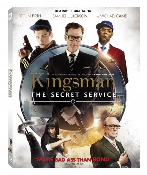 KINGSMAN: THE SECRET SERVICE. (Blu-ray / DVD Artwork). ©20TH Century Fox.