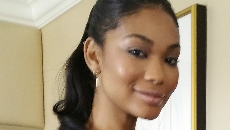 Chanel Iman, Quincy Brown are 'Dope'