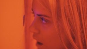 Taylor Schilling stars in THE OVERNIGHT. ©Sundance Institute.
