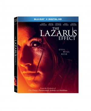 THE LAZARUS EFFECT. (Blu-ray/DVD Artwork). ©20th Century Fox.