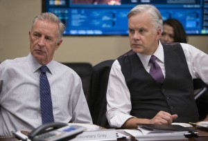 (l-r)  Geoff Pierson and Tim Robbins star in THE BRINK. ©HBO. CR: Merie W. Wallace.