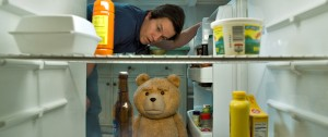 (top to bottom) John (MARK WAHLBERG) and Ted (SETH MACFARLANE) are Thunder Buddies for life in TED 2. ©Universal Pictures and Media Rights Capital. CR: Iloura.