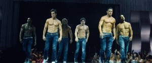 "(l-r) Stephen ""Twitch"" Boss as Malik, Matt Bomer as Ken, Kevin Nash as Tarzan, Joe Manganiello as Riche, Channing Tatum as MIke and Adam Rodriguez as Tito in MAGIC MIKE XXL. ©Warner Bros. Entertainment."
