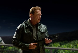 Arnold Schwarzenegger plays the Terminator in TERMINATOR GENISYS. ©Paramount Pictures. CR: Melinda Sue Gordon.