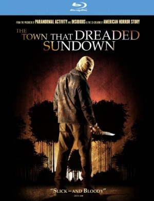 THE TOWN THAT DREADED SUNDOWN (Blu-ray / DVD Artwork). ©Image Entertainment.