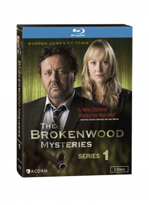 THE BROKENWOOD MYSTERIES SEASON 1. (Blu-ray / DVD artwork)/ ©Acorn Media.